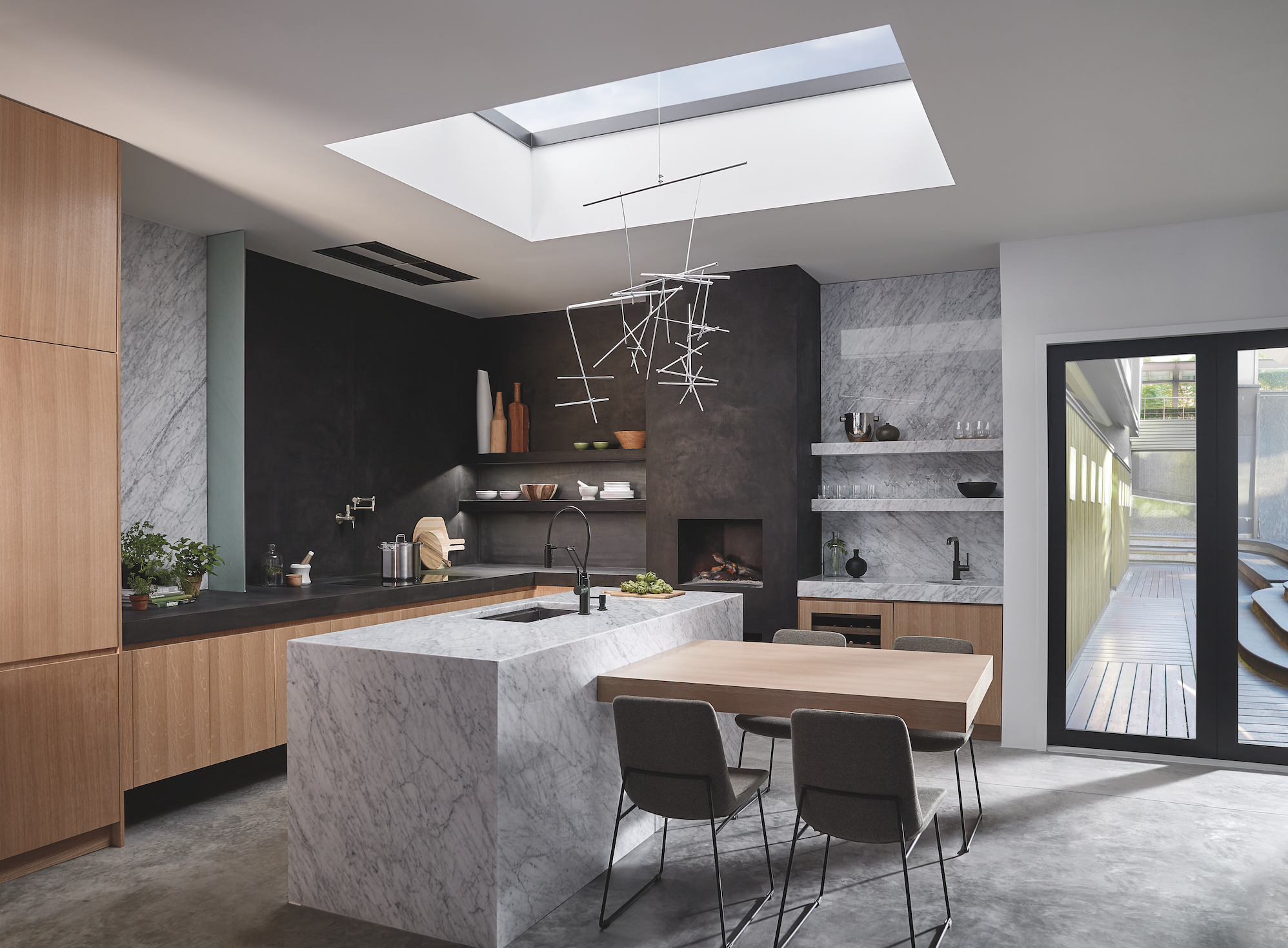 kitchen spaces black faucet for kitchen The Solna kitchen faucet collection from Brizo features crisp lines and simple form inspired by contemporary Scandinavian furniture