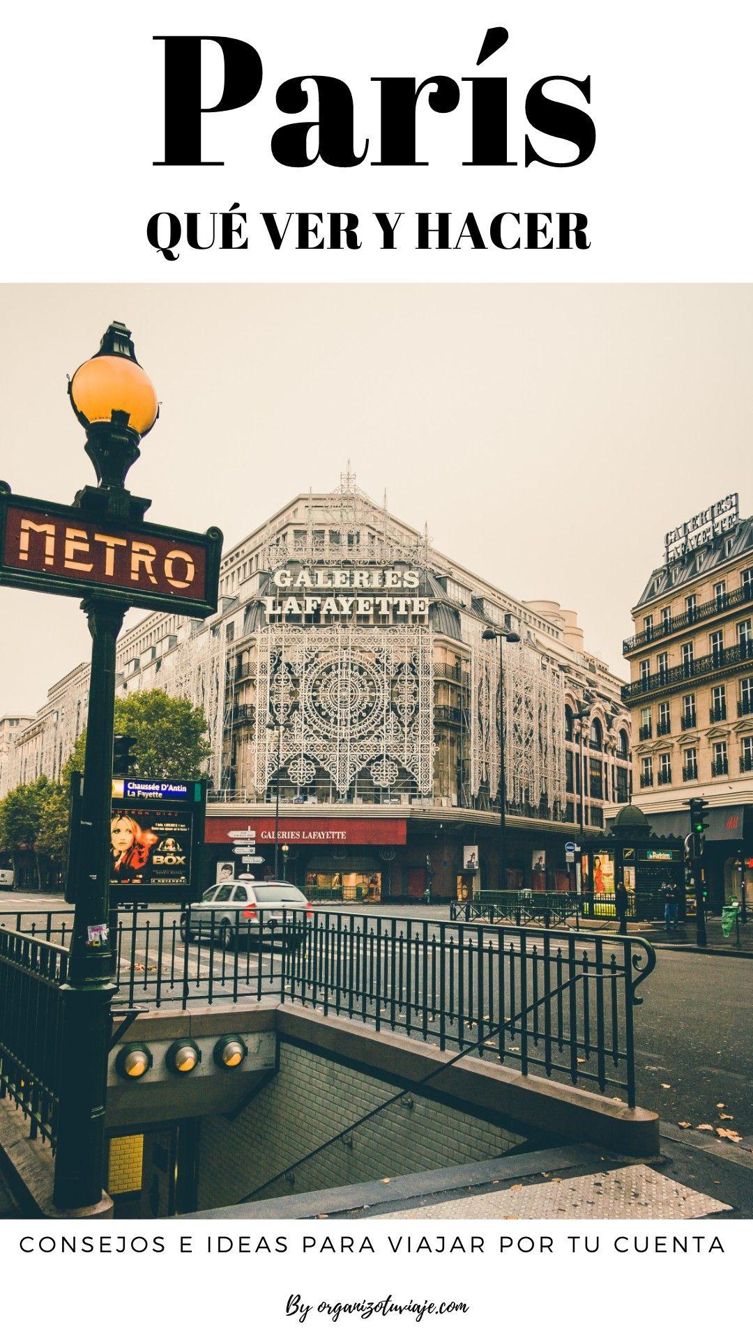 París Consejos Para Viajar Por Tu Cuenta Con Planes Y Lugares Geniales Viajes Lugares Para Visitar Viaje A Europa