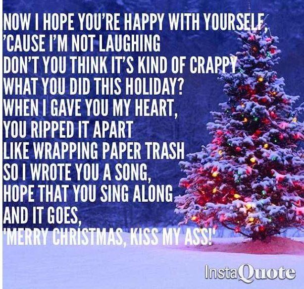 Merry Christmas, Kiss My Ass: All Time Low   Lyrics   Pinterest ...