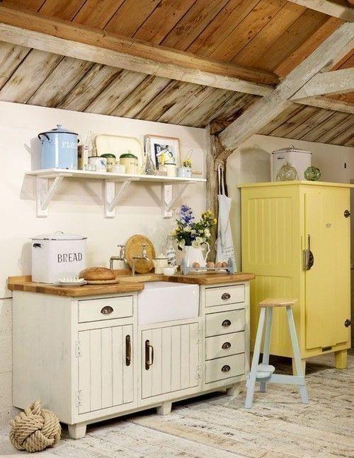 Zdjecie Nr 20 W Galerii Wymarzona Kuchnia Rustic Kitchen Freestanding Kitchen Kitchen Design