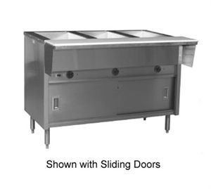 Spec Master Hot Food Table Electric 48 L 3 12 X 20 Dry Wells With Thermostatic Controls In Recessed Panel Stainless S Hot Meals Food Table Dry Well
