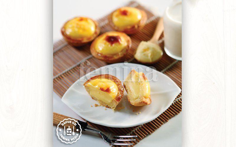 Resep Cheese Tart Ala Hokkaido Tar Makanan Resep Masakan