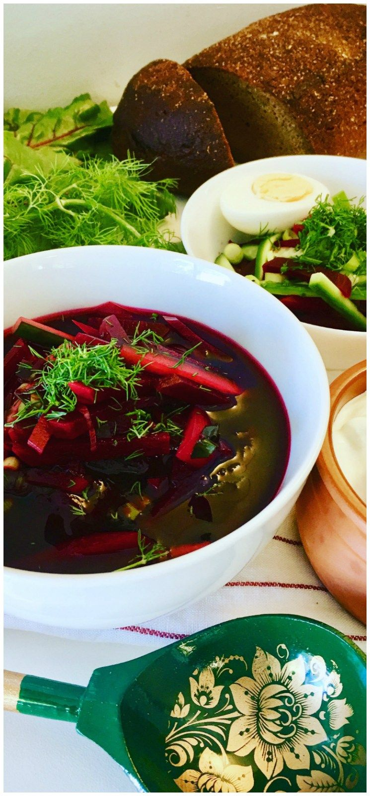 How to cook classic hot and cold beetroot soup: step-by-step recipes of beetroot soup with meat and ham, kefir and kvass with photos 17