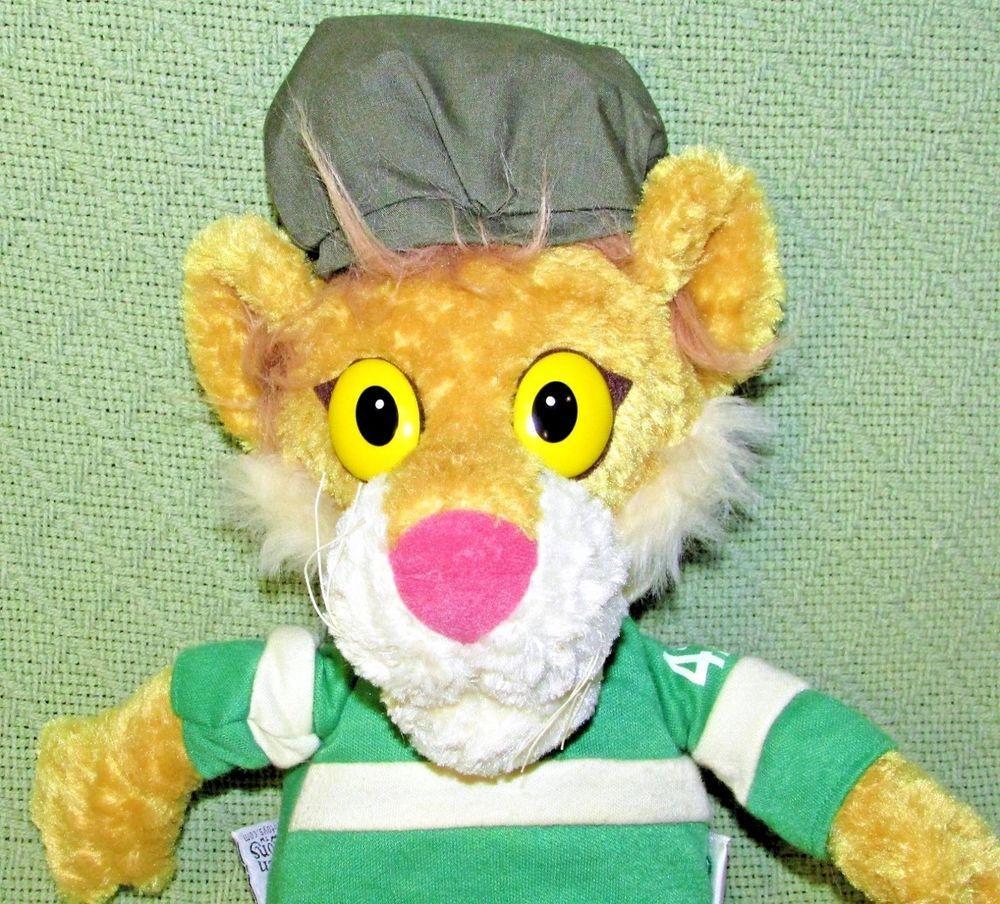 Eden Lionel Read Between The Lions 14 Plush Stuffed Tan Green Stripe Shirt Toy Eden Green Stripes Read Between The Lions Between The Lions [ 904 x 1000 Pixel ]