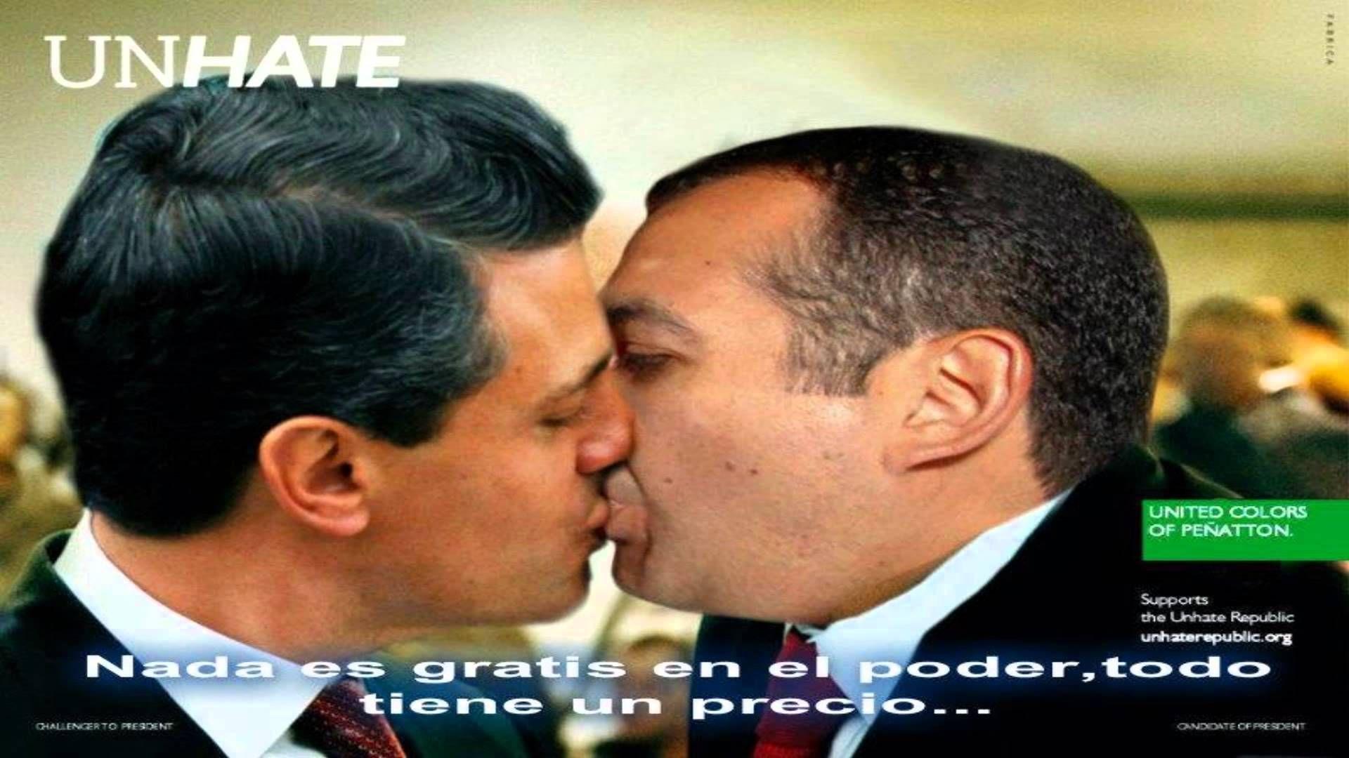 Enrique pe a nieto besando a otro hombre ayotzinapa iii - Un hombre casado vuelve a buscar a su amante ...