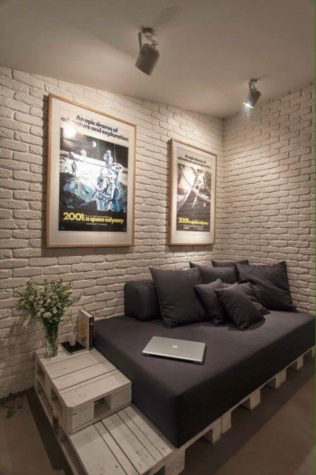 pingl par marilisa biazin sur decora o de ambiente pinterest bonjour palette et chambres. Black Bedroom Furniture Sets. Home Design Ideas