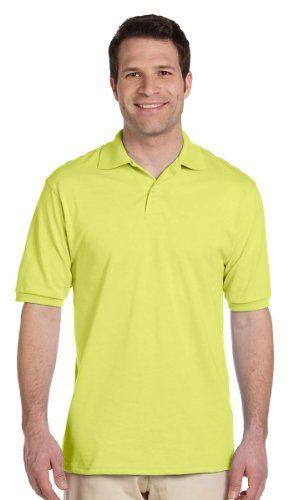 0d9cb1b8 Jerzees Mens 2 Button Placket Welt Knit Collar Polo Shirt #tshirt #shirt  #polos #clothing #fashion #poloshirt