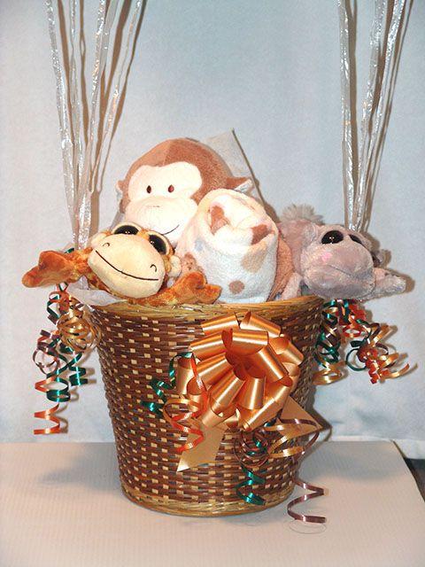 Hot air balloon gift basket | gift ideas | Pinterest | Hot air ...