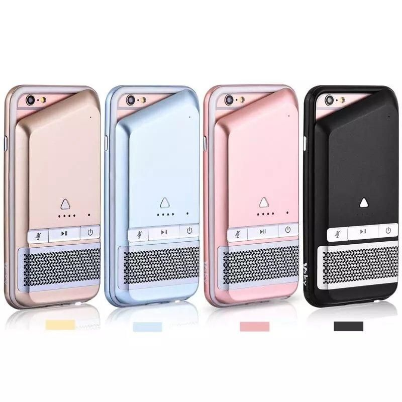 iPhone Case With Power Bank Bluetooth Speaker Phone