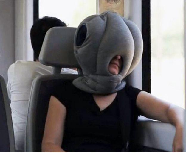 new magical ostrich pillow office