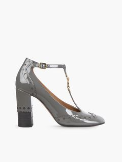 56b067c4f4ad Discover Chloé Perry T Bar Pumps and shop online on CHLOE Official Website.  CH29506E80