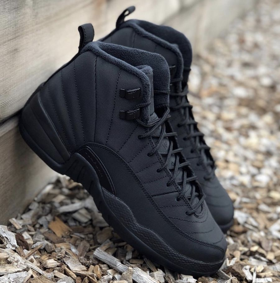 e34a3e89493a Air Jordan 12 Winterized Black Anthracite BQ6851-001 Release Date - SBD