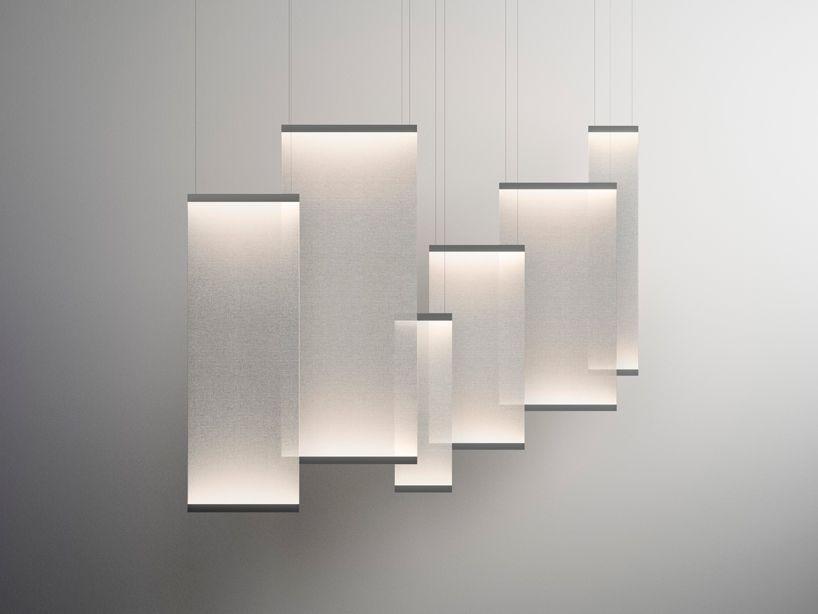 arik levy curtain cascade light vibia designboom luce pinterest