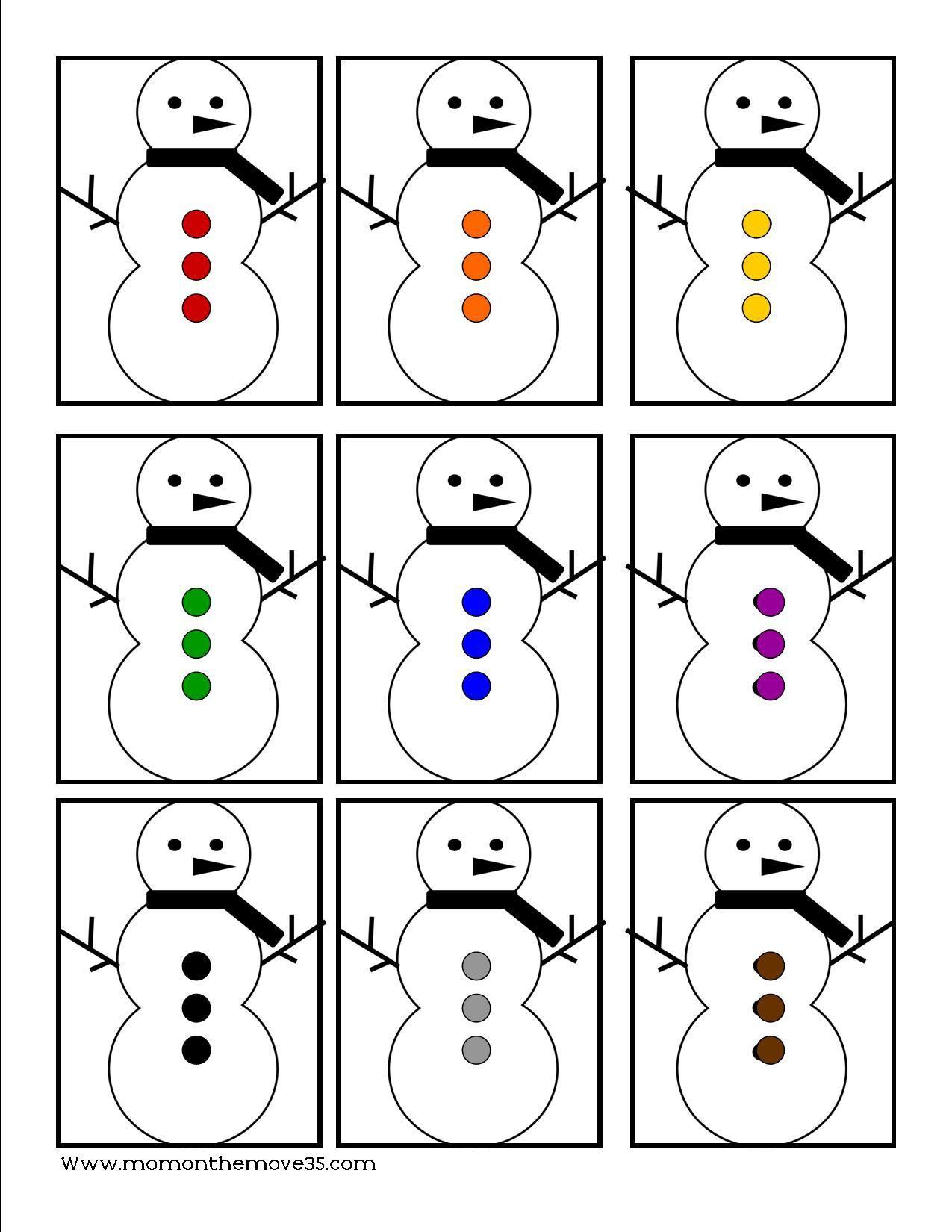 Preschool Winter Activities And Printables