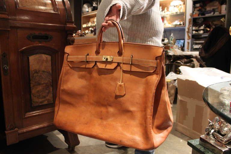 73c4de97a6 Hermes 55cm HAC Travel Bag image 2 | Hermès | Bags, Hermes bags, Hermes