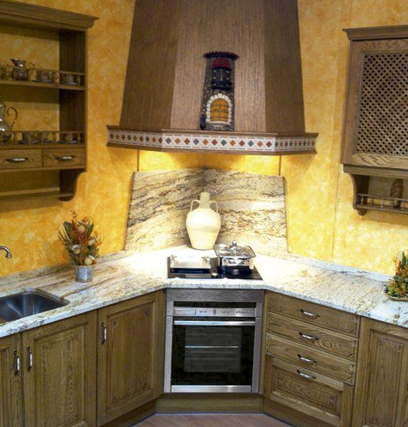 C mo conseguir una cocina r stica corner stove stove - Cocinas estilo rustico ...