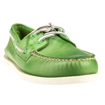 Sperry Top-Sider Cloud Logo Authentic Original Two Eye Boat Shoe #VonMaur #StPatricksDay #Green