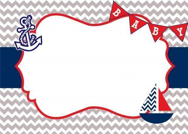 Invitaciones Baby Shower Marinero Buscar Con Google Baby