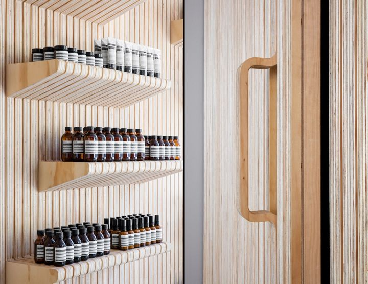 Aesop store by Tacklebox Architecture, New York City » Retail Design Blog