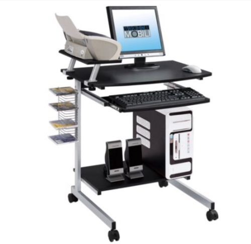 New techni mobili mobile compact mdf computer cart for Mobili mdf
