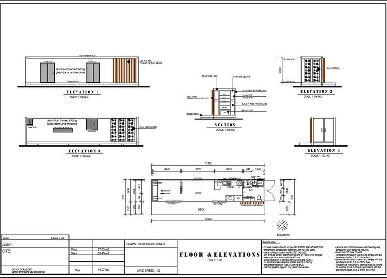 40 Foot Shipping Container Home Blueprints Best Selling Etsy Container House Plans House Blueprints Container House
