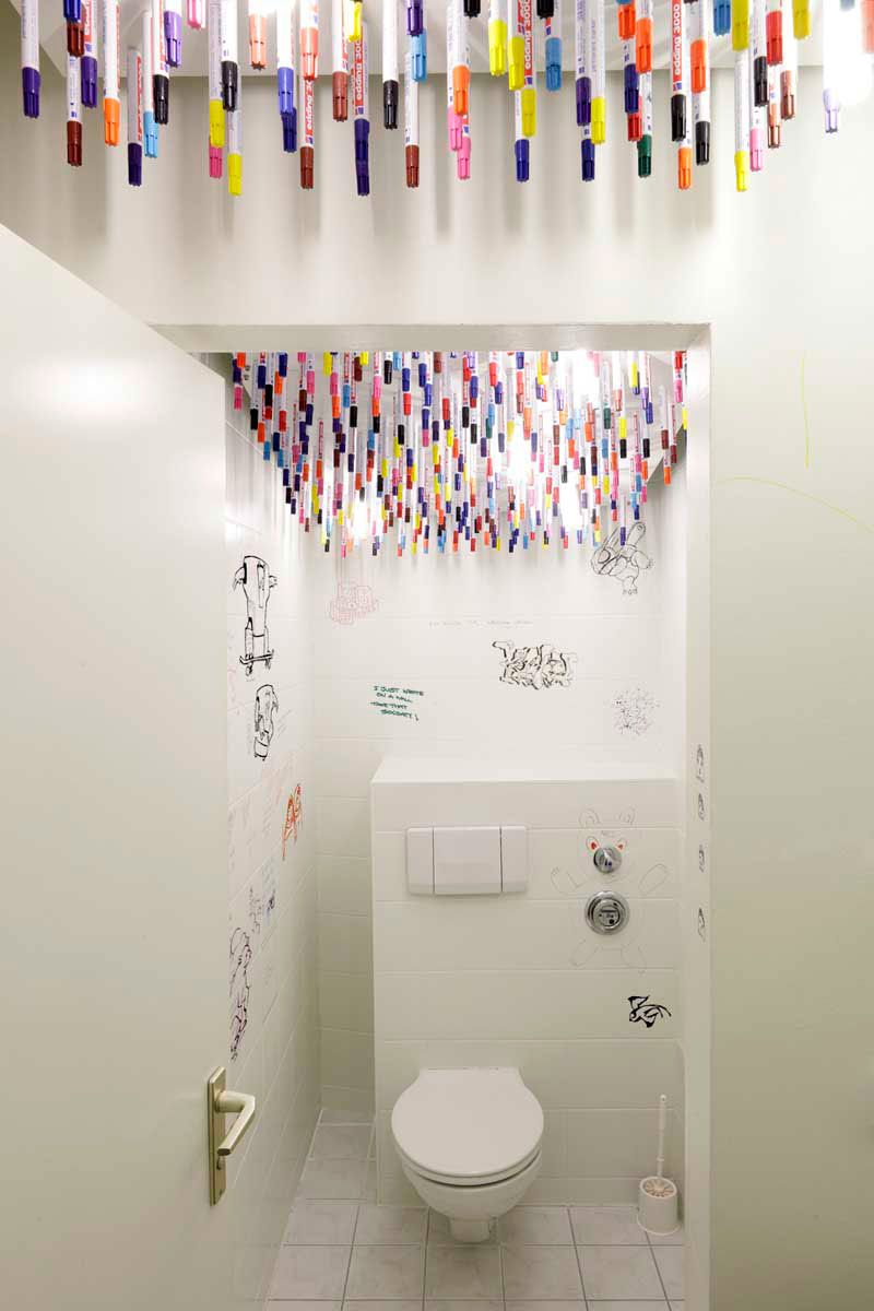 3 creative bathroom designs get inspired in the loo for Clever bathroom ideas