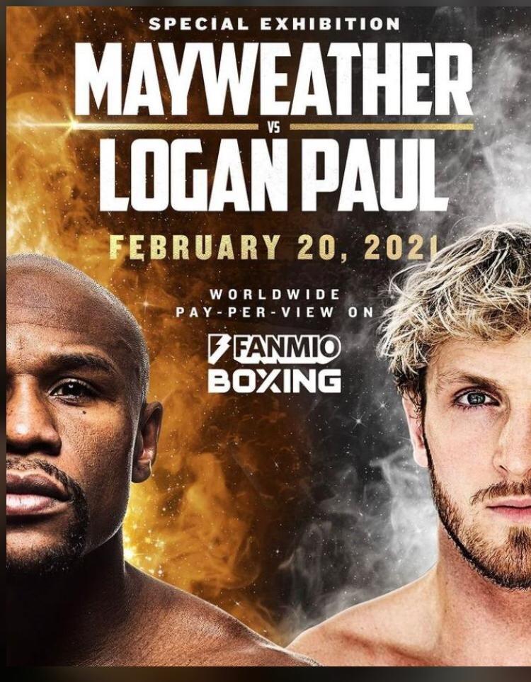 Floyd mayweather vs logan paul february 20 2021