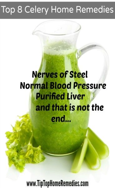 Top 8 Celery Home Remedies That Will Give You Nerves of Steel, Normal Blood Pressure, Purified liver and That is not the End! - Tiptop Home Remedies