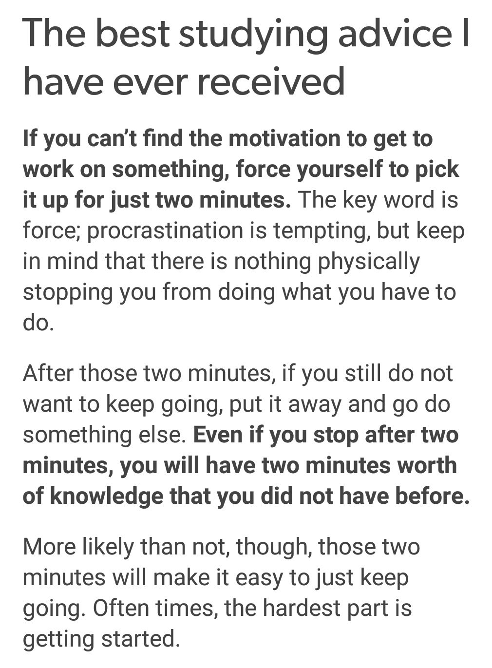 [Image] If you can't find the motivation.. #studymotivationquotes