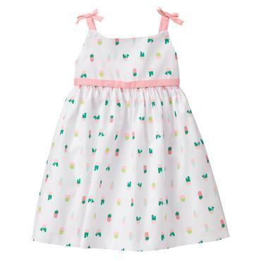 b20fa41c043 Baby White Cactus Dress by Gymboree