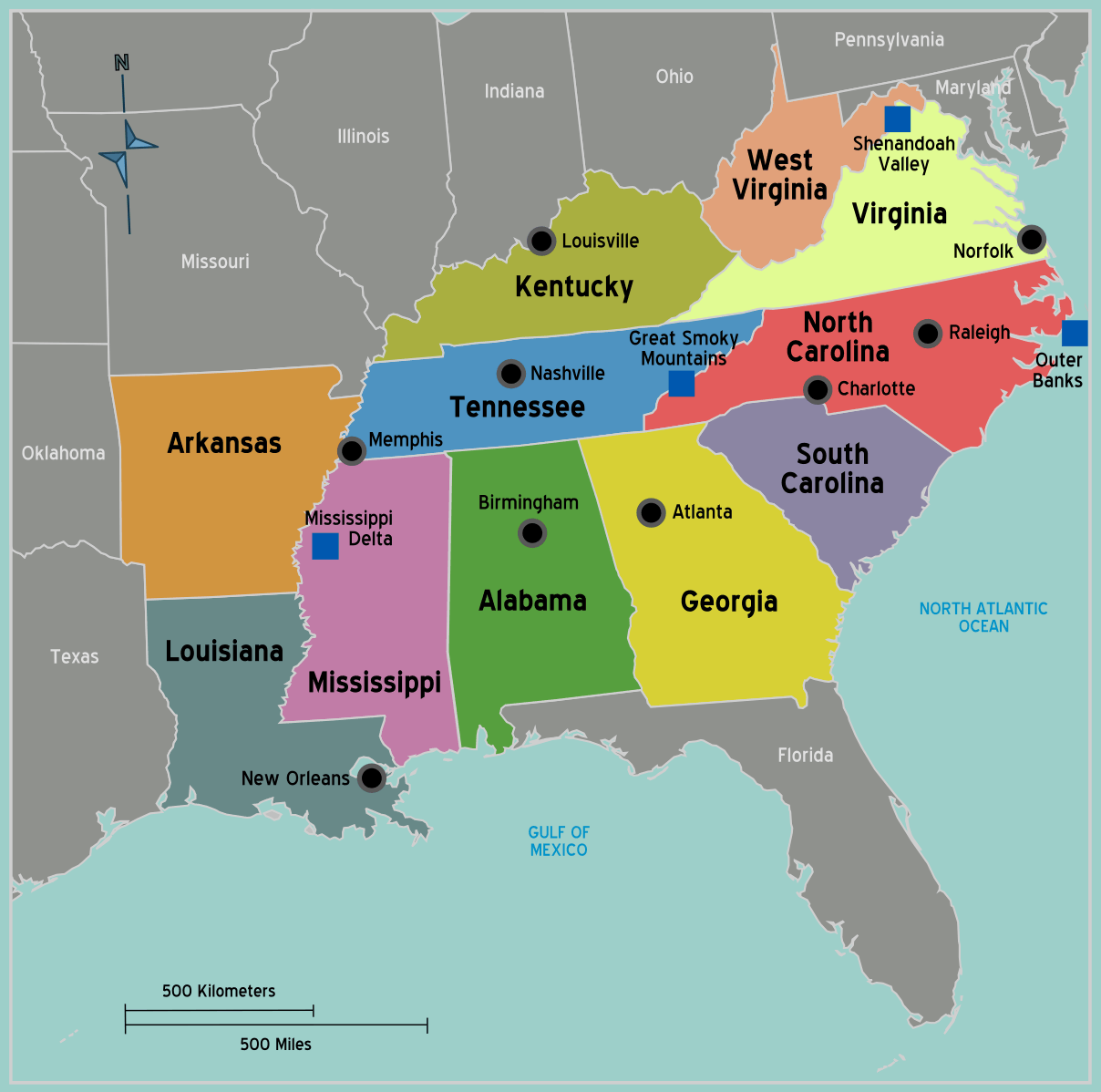South Secession Map Southern States Secede Civil War Rights - Southern map of us