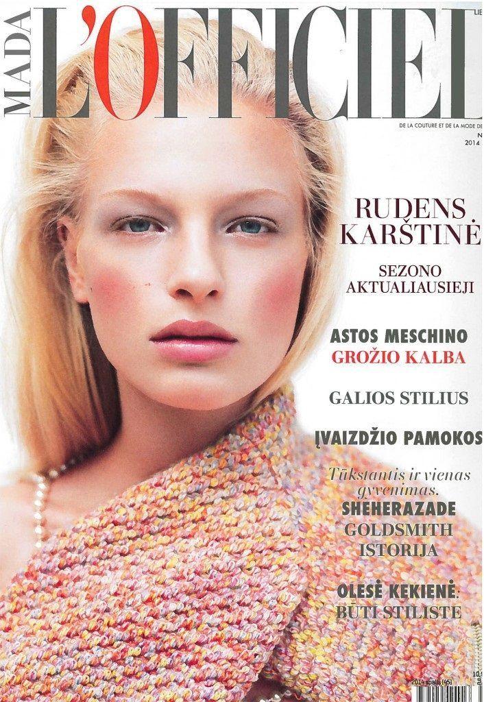 L'Officiel Magazine [Latvia] (May 2014)