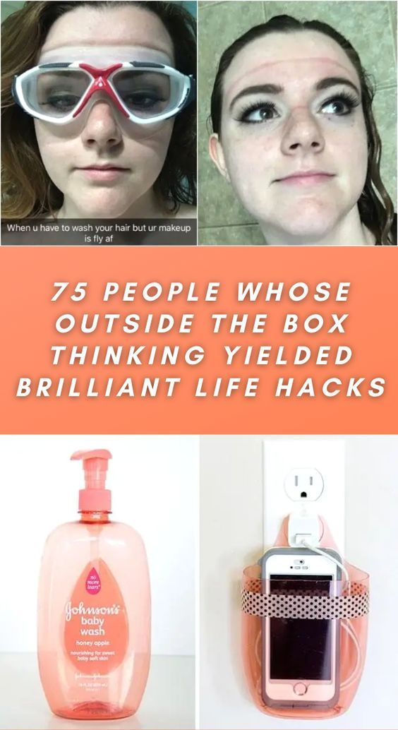 75 people whose outside the box thinking yielded brilliant life hacks