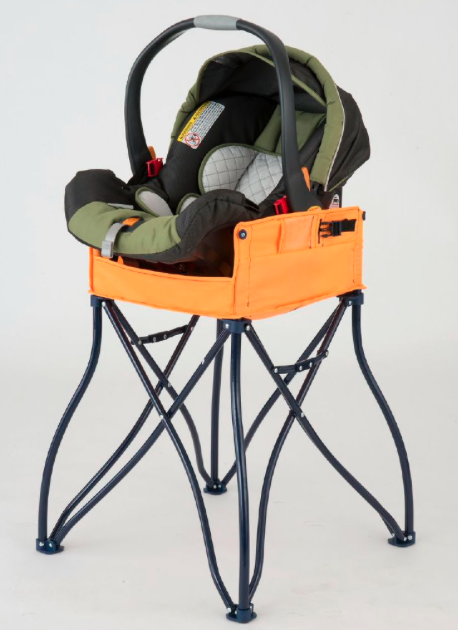 Did you know we have different colors for our Phoenix Baby 2-in-1 car seat station? Bright orange is one of them!