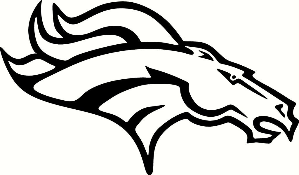 Denver Broncos vinyl decals | Home > Products > Denver Broncos LOGO ...