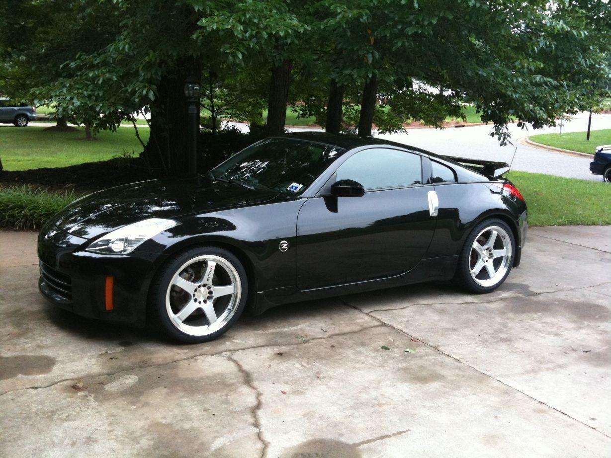 Nissan 350z Black Nissan 350Z in ...