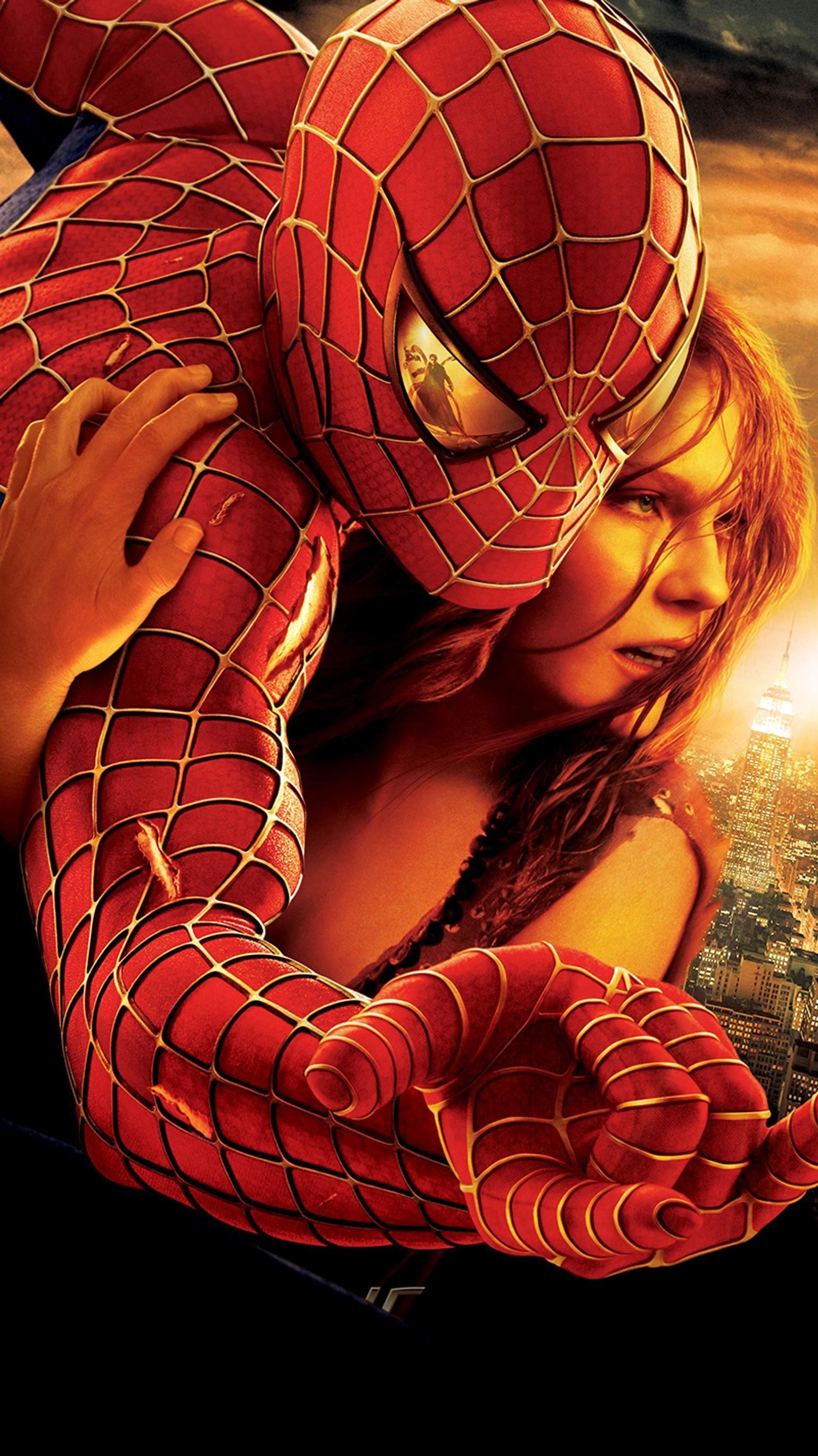 Spider Man 2 2004 Phone Wallpaper Spiderman Movie Spiderman