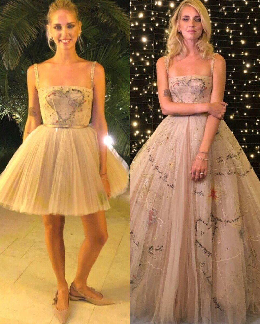 economico per lo sconto f66ea b7fb6 I 4 abiti da sposa indossati dalla dalla fashion blogger ...