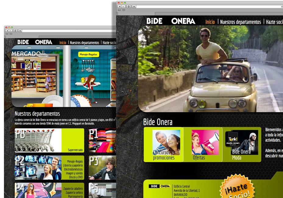 Desarrollo Web Con Visita Virtual Para Bide Onera Desarrollo Web