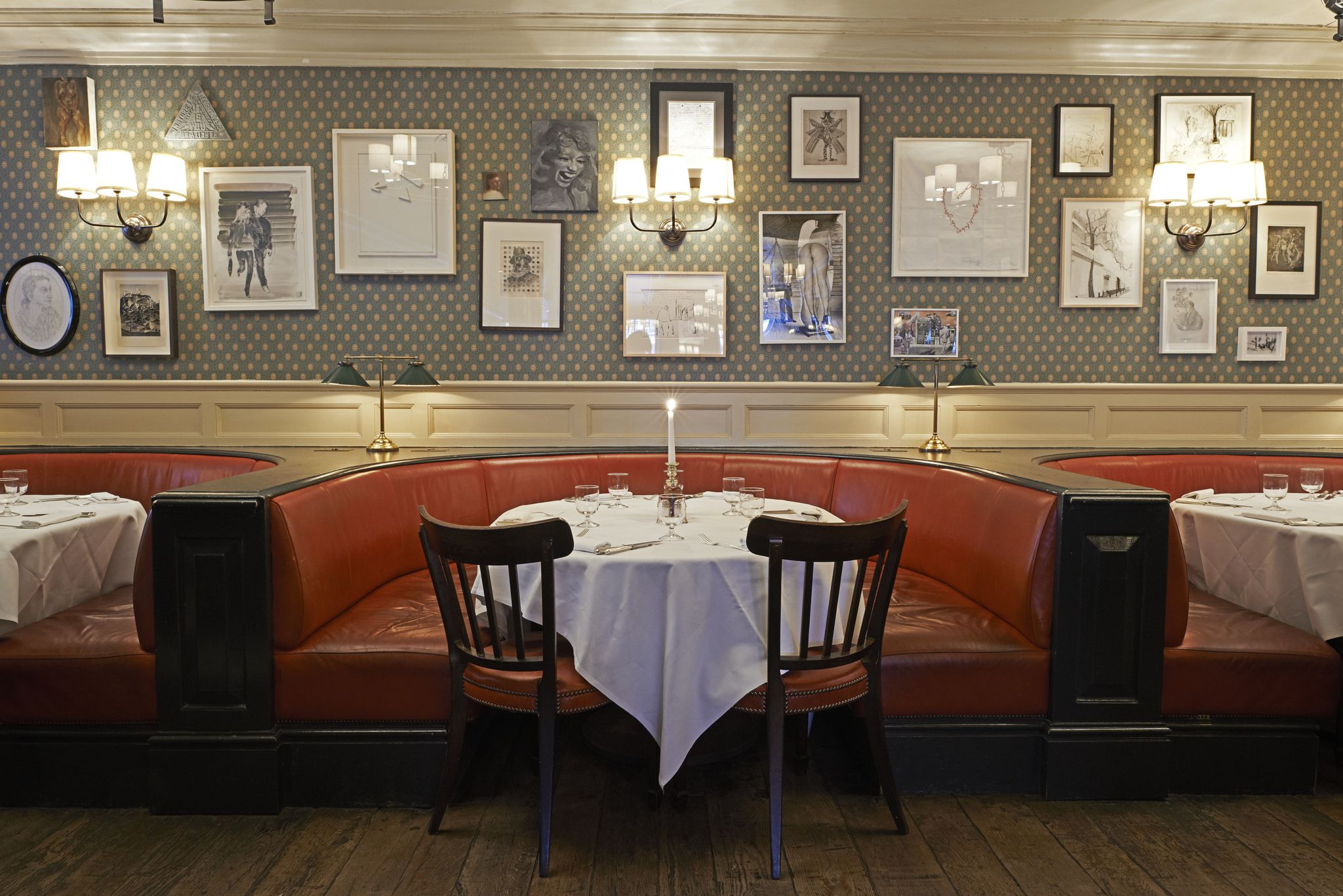 Dean Street Townhouse, London: \'a stylish place, indeed ...