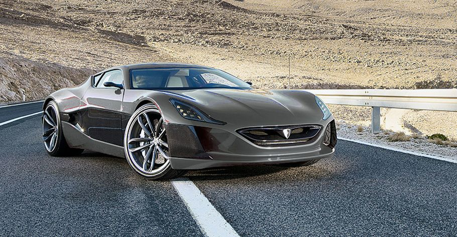 Rimac Automobili Project One Electric Car Concept Electric Sports Car Super Cars Electric Cars