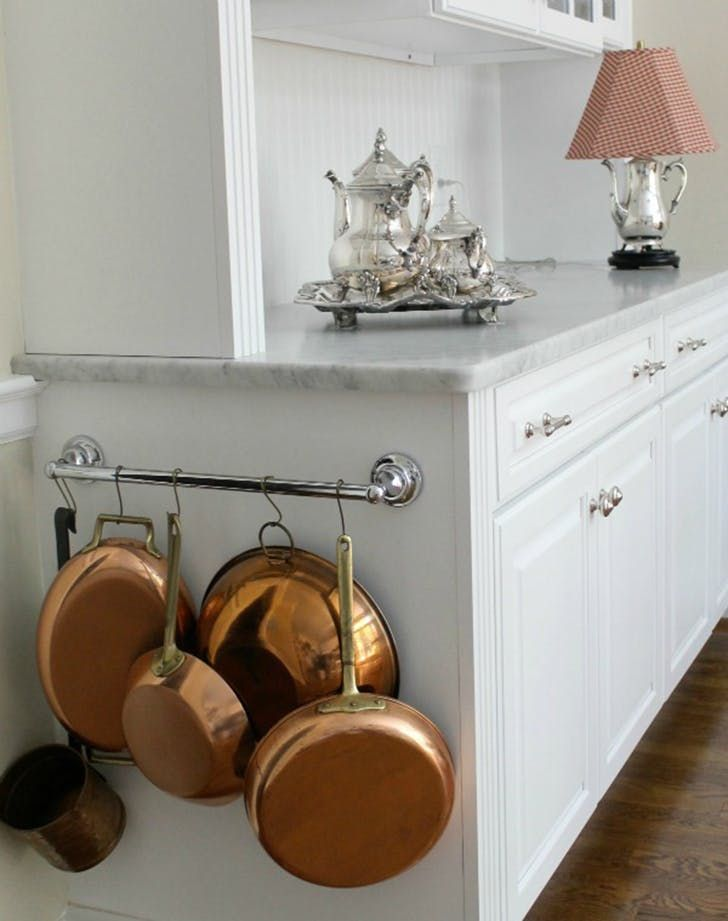 10 Clever New Ways To Use A Towel Bar Kitchen Ideas Pinterest