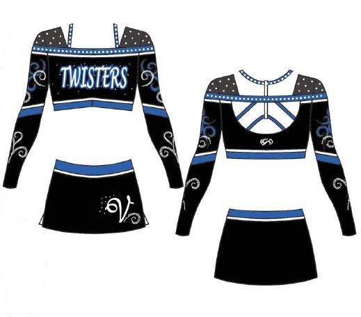 Maryland Twisters Cheer Outfits Cheer Costumes Cheerleading Outfits