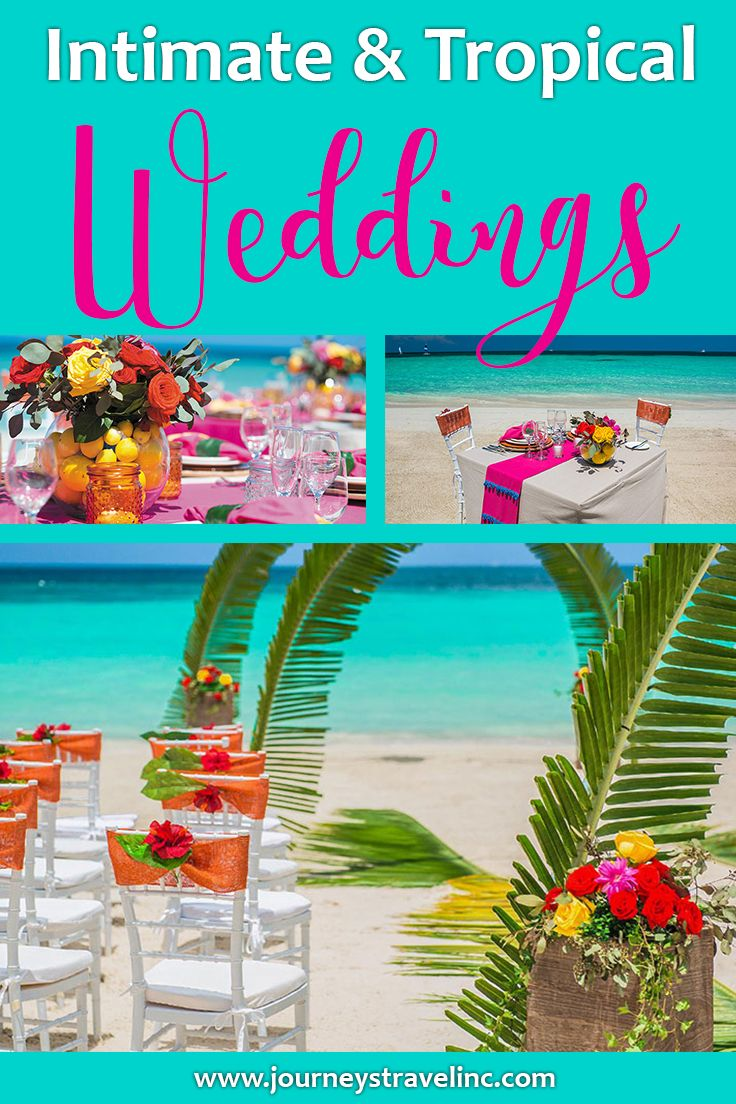 Intimate & Tropical Destination Weddings at Sandals