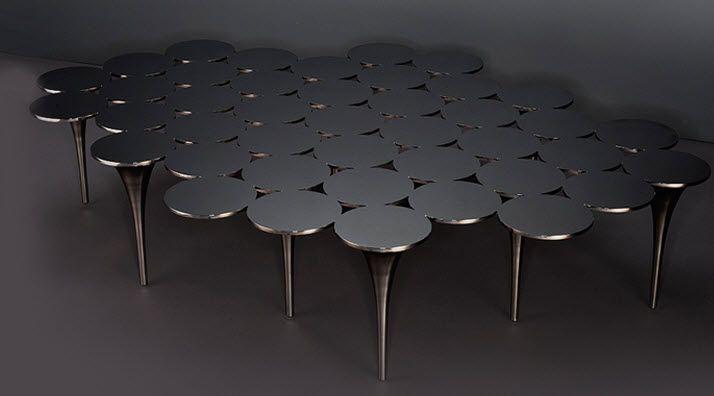 Magnifique Grande Table Basse Design Décoration Française