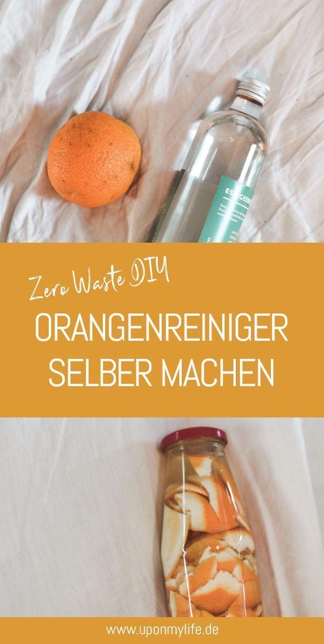 Zero Waste DIY Orangenreiniger selber machen