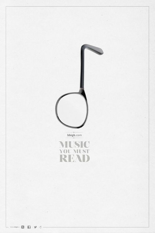 Music you must read. BBigb Ad by DLV BBDO Bbigb is a blog with news, concert dates & reviews about pop/rock music.