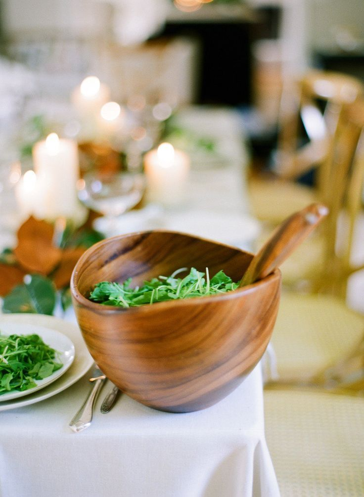 Dinner Party Menu Ideas For 20 Part - 22: Winter Green Salad: Http://www.stylemepretty.com/living/