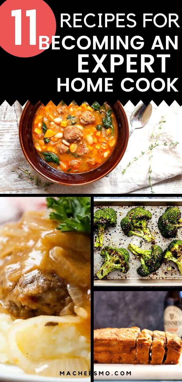 If you are interested in taking your cooking to the next level, a few tips and tricks can help! These are the recipes that I think can vault a home cook from beginner to expert! macheesmo.com #recipes #homecooking