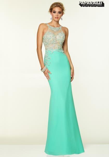 2015 Mori Lee Halter Top Prom Dress 97046 | 2015 Mori Lee Dresses ...
